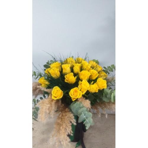 Anneme Sarı Güller - 21 Adet