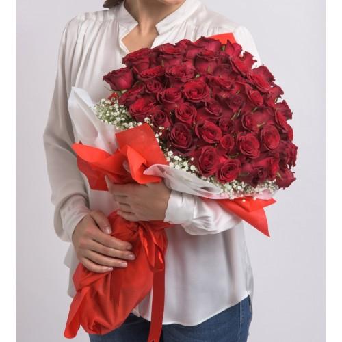60 Kırmızı Gül ile Aşkların En Büyüğü