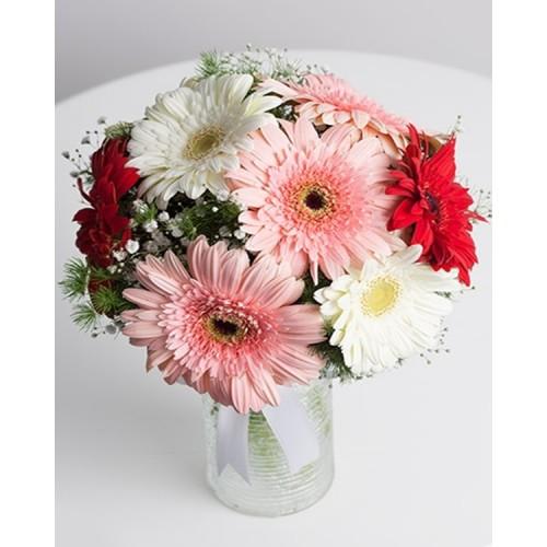 Hayallerimin  Prensesi Gerbera Çiçek Arajmanı