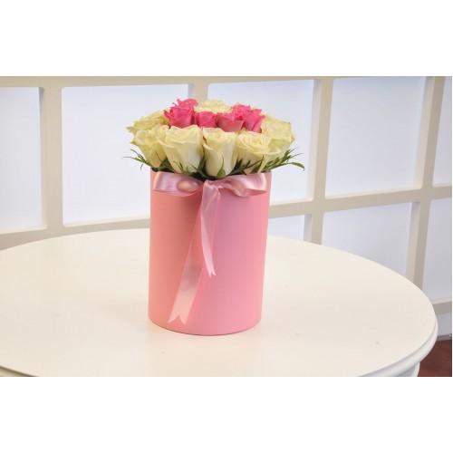 Güllere Yazdım Seni Kişiye Özel Baş Harfi Çiçeği