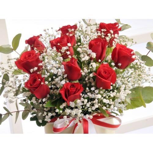 Canım Aşkıma Kutuda Güller